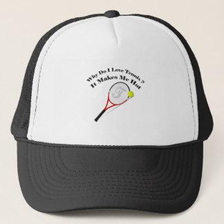 Casquette Pourquoi font le tennis d'amour d'I. Il me rend
