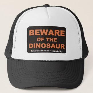 Casquette Prenez garde/dinosaure