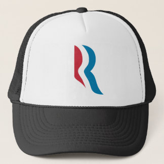 """Casquette Président 2012 de logo de Mitt Romney """"R"""""""