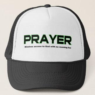 Casquette Prière, accès sans fil au cadeau de chrétien de