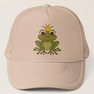 Casquette Prince de grenouille de conte de fées avec la