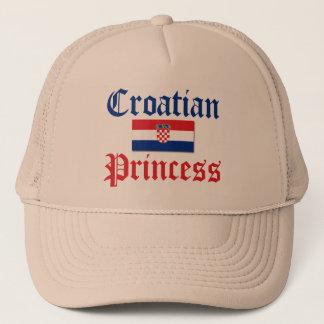 Casquette Princesse croate 1