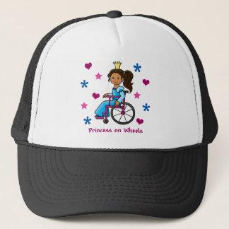 Casquette Princesse de fauteuil roulant