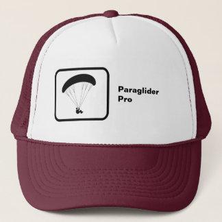 """Casquette """"Pro"""" logo et texte de parapentisme"""