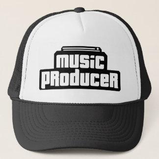 Casquette Producteur personnalisable de musique