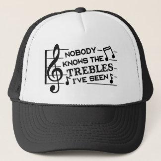 Casquette Professeurs de musique triples du calembour   de