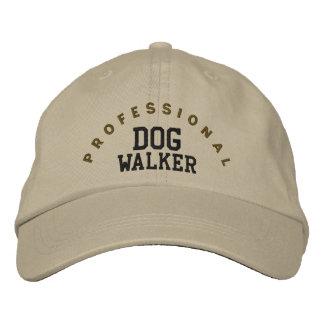 Casquette professionnel de marcheur de chien