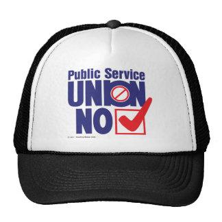 Casquette public de Ser. Union NO-