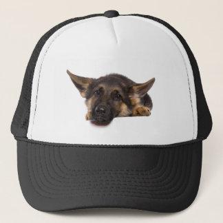 Casquette puppy German shepherd