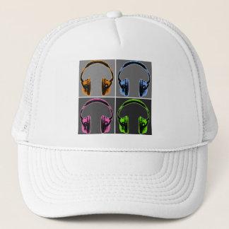 Casquette Quatre écouteurs d'art de bruit