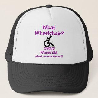 Casquette Quel fauteuil roulant (lumière)