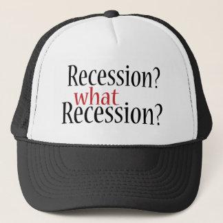 Casquette Quelle récession ?
