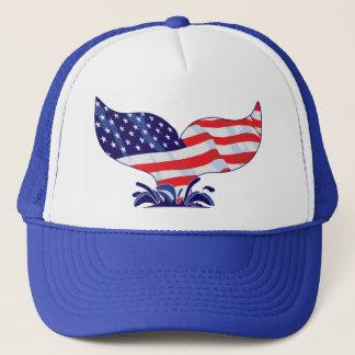 Casquette Queue patriotique de baleine