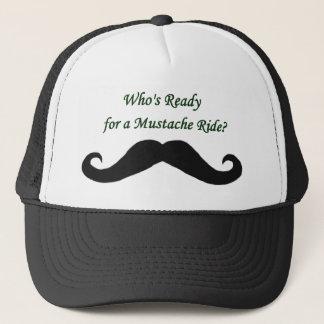 Casquette Qui est prêt pour un tour de moustache ?