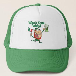 Casquette Qui est votre Irlandais de paddy