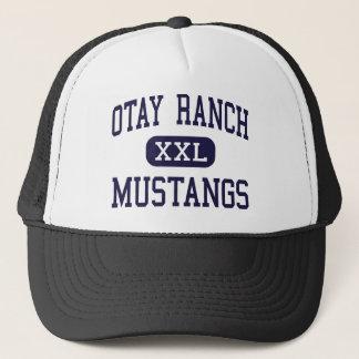 Casquette Ranch d'Otay - mustangs - haut - Chula Vista