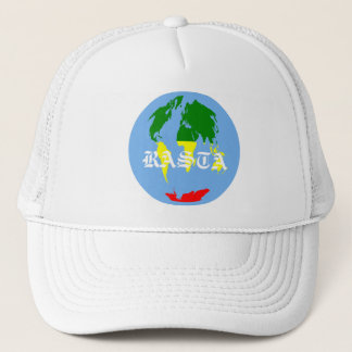 CASQUETTE RASTA WORLD