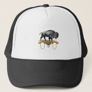 Casquette réclamation attelée de bison