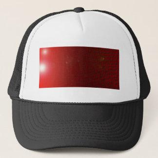 Casquette red halo