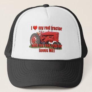 Casquette red_tractor_love