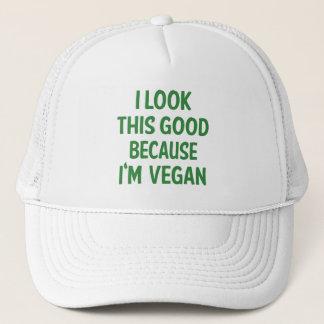 Casquette Regard drôle ce bon végétarien végétalien de