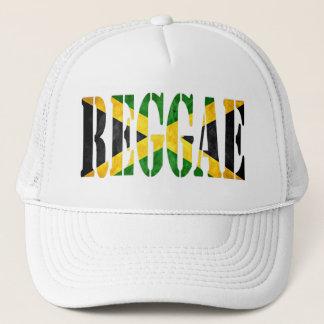 Casquette reggae avec le drapeau de la Jamaïque