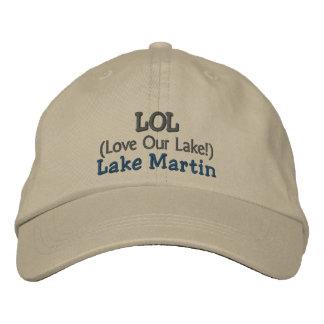 """Casquette réglable """"amour de LOL lac Martin notre Casquette Brodée"""