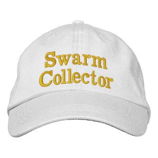 Casquette réglable de base blanc de collecteur casquette brodée