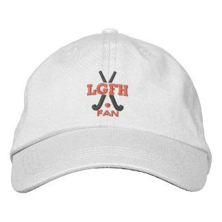 Casquette réglable de fan de LGFH Casquette Brodée