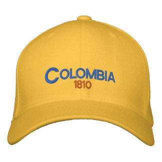 Casquette réglable de la Colombie 1810 Casquette Brodée