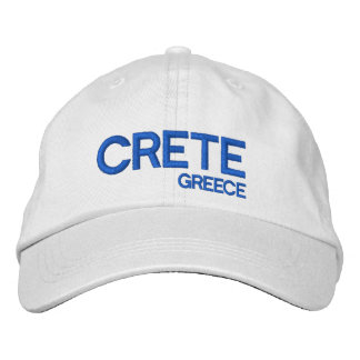 Casquette réglable de la Grèce Crete* Casquette Brodée