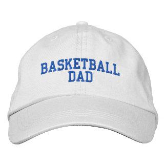 Casquette réglable de papa de basket-ball