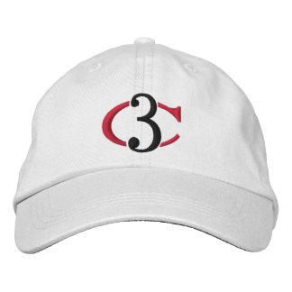 Casquette réglable du logo C3