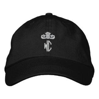 Casquette réglable personnalisé par logo de carte casquette brodée