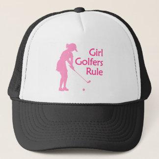 Casquette Règle de golfeurs de fille