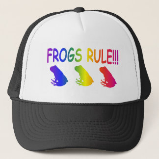 Casquette Règle de grenouilles