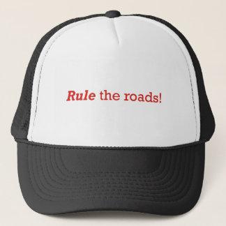 Casquette Règle/routes