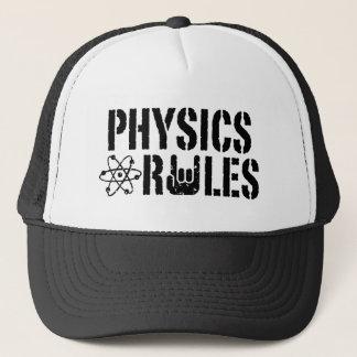 Casquette Règles de physique