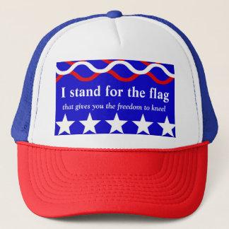 Casquette Représentez le drapeau qui vous donne la liberté