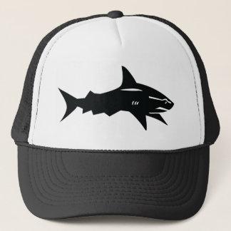 Casquette requin noir