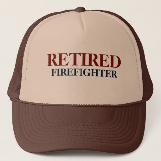 Casquette retiré de sapeur-pompier