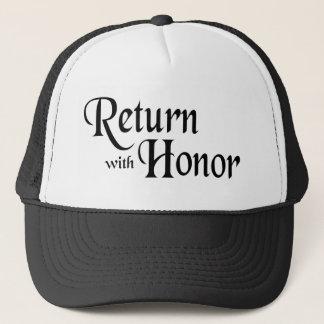 Casquette Retournez avec l'honneur
