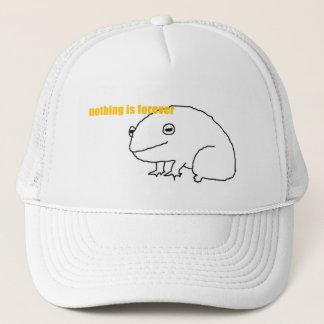 Casquette rien n'est pour toujours grenouille