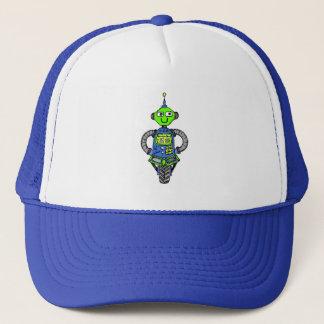 Casquette Robot, bleu et vert d'Arnie