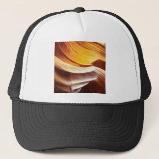 Casquette roches bronzages du soleil d'orange