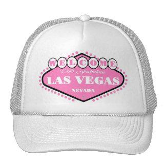 Casquette ROSE-CLAIR de signe de Las Vegas