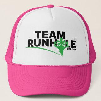 Casquette ROSE de chapeau de Runhole d'équipe !