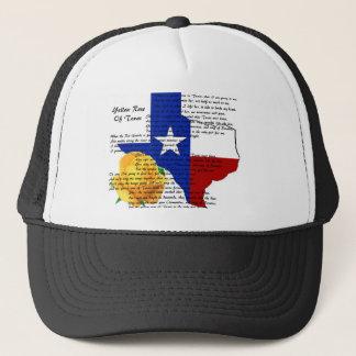Casquette Rose jaune de chanson de guerre civile du Texas