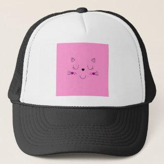 Casquette Rose mignon de chatons