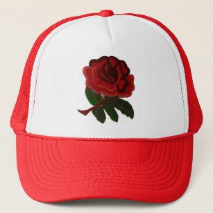 Casquettes Petales Fleur Rose Zazzle Fr